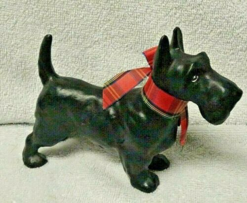 Scotty Scottie Dog Standing Ceramic Figurine