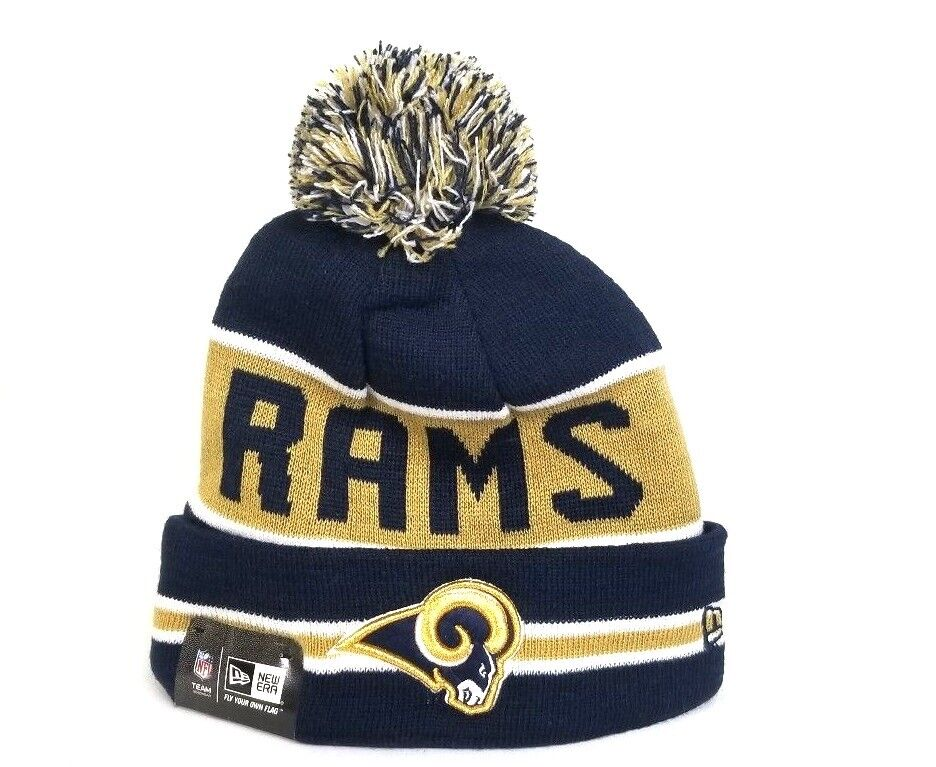 8a5cc0617 Los Angeles Rams New Era NFL Winter Beanie Knit Hat