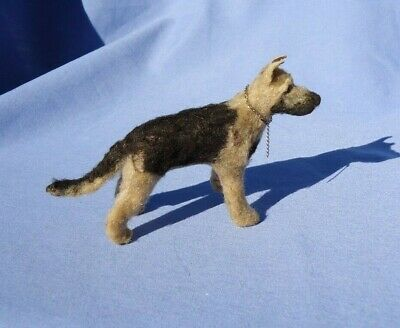 GERMAN SHEPHERD BELGIAN MALINOIS  ALSATIAN OOAK SOFT SCULPTURE DOG Belgian Malinois German Shepherd