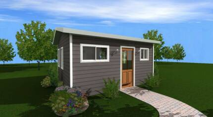 GRANNY FLAT, KIT HOME FLAT PACK, ONE BEDROOM, FULLY INSULATED,