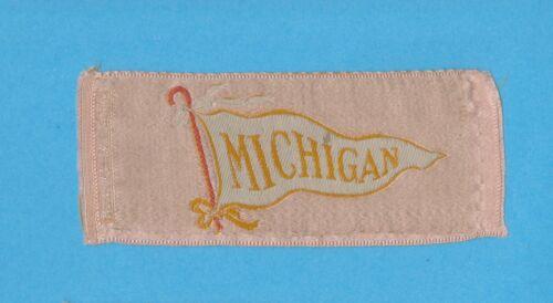 1910s S24 Twelfth Night cigarettes silk  UNIVERSITY OF MICHIGAN   Nice!!