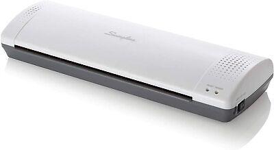 Swingline Thermal Laminator Inspire Plus Machine Laminating Pouch 12 White Gray