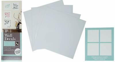 Dcwv Home Dry Erase Board Wall Decals 4 Sheets