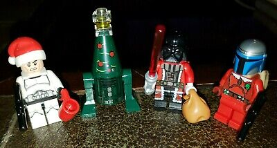 LEGO Star Wars Lot of 4 Christmas Advent Calendar Minifigures