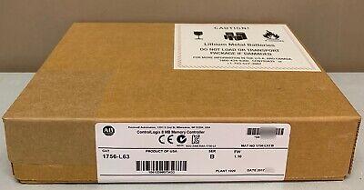 New Sealed Allen Bradley 1756-l63 B Controllogix Logix5563 Processor 1.10 Qty