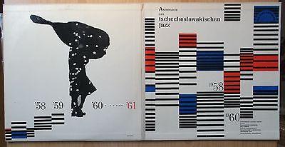 ANTHOLOGIE DES TSCHECHOSLOWAKISCHEN JAZZ CZECH SUPRAPHON LP:1958-1960 (SUB15184)