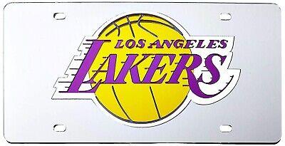 Los Angeles Lakers Premium Laser Cut Acryl Intarsien Kennzeichen Basketball Los Angeles Lakers Laser