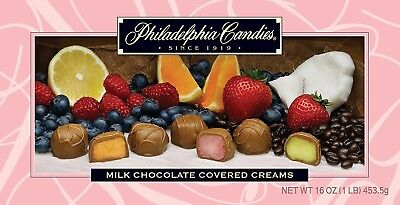 - Philadelphia Candies Milk Chocolate Assorted Creams (Soft Centers), 1 Pound Gift