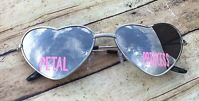 Flower Girl Sunglasses - Flower Girl Gift - Petal Princess - Kids Sunglasses - W