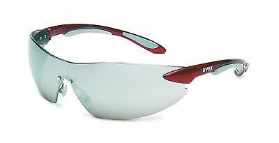 Honeywell Ignite Red Metallic Frameless Tinted Safety Glasses