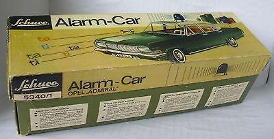 Repro Box Schuco Alarm Car Opel Admiral 5340/1