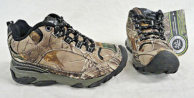 OZARK TRAIL, TODDLER BOYS REALTREE XTRA CAMO HIKER BOOTS SIZE 13, NEW FREE SHIP