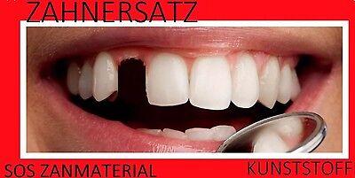 Provisorischer Zahnersatz Granulat ZAHN REPARATUR Zahnlücke WOWW