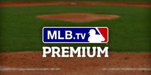 MLB TV Premium 2021 Season - Private MLB.TV Account - $129 Value