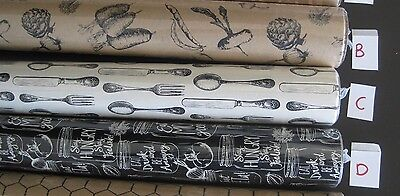 Gift wrap paper, vintage style, 3 different designs, new, 2 rolls, 15 ft each