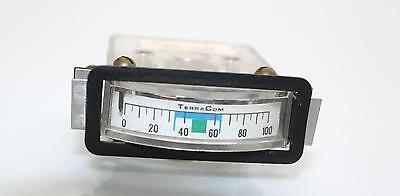 Panel Indicator Gauge Dc Ampere Meter Ammeter Terracom 100a 910559