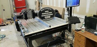 Cnc Router 4 X 10 Foot Bed 3 Axis In Good Condition