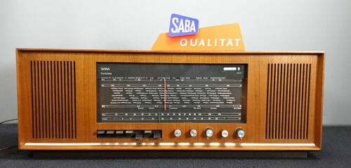 Tube-Radio SABA KONSTANZ KN18 STEREO Model 1966 - Made in Germany
