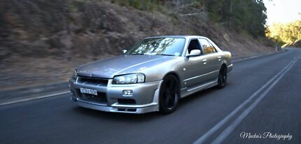 R34 4 Door (rare awd)  Wauchope Port Macquarie City Preview