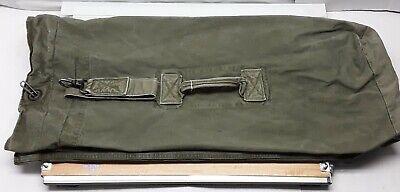 1940s Handbags and Purses History Vintage 1940s WWII USMC Canvas Duffle Bag 32