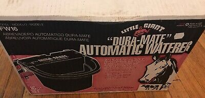 Little Giant Dura-mate Automatic Waterer Fw16 16 Quart Cattle Horse Cow Red Usa