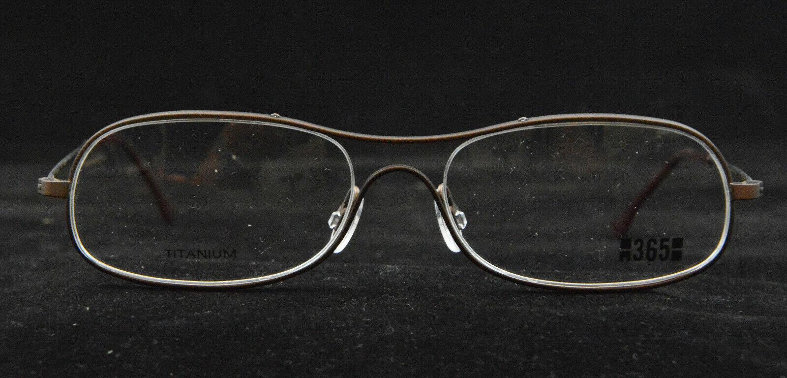 Freudenhaus Oslo MOC 53 [] 16-140 Titanium Brillenfassung Gestell Brille 385