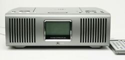 TEAC SR-L100 Alarm Clock CD Player AM/FM Radio Working