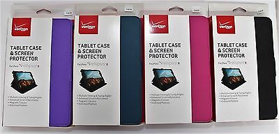 NEW Original Verizon Tablet Case & Screen Protector For Ellipsis 8 Choose Color Choose Color Original Design