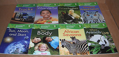 Lot of 8 Kingfisher Readers Books Level 2 Paperback NEW