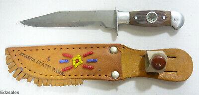Itasca State Park Minnesota Sheath Knife Souvenior - Beginning of Mississippi