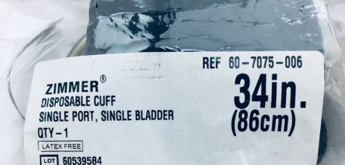 """Zimmer 60-7075-006 Tourniquet Cuff 34"""" (86 cm) (6 Pieces)"""
