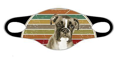 Boxer Hundeliebhaber Weiche Gesichtsschutzmaske leicht zu waschen