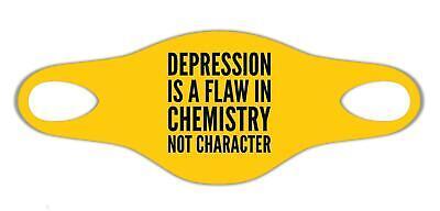 Depression ist ein Fehler in der Chemie Cooles Geschenk Sanft atemSchutzmaske