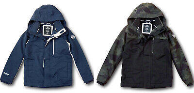 NWT Hollister by Abercrombie&Fitch Men's All-Weather Fleece-Lined Jacket Coat