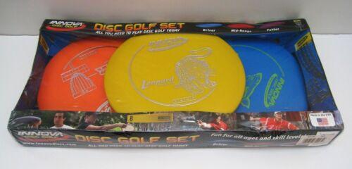 BRAND NEW!! INNOVA DISC GOLF STARTER SET 3-PACK DRIVER, MID-RANGE & PUTTER