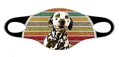 Dalmatinischer Hundeliebhaber Weiche Gesichtsschutzmaske leicht zu waschen