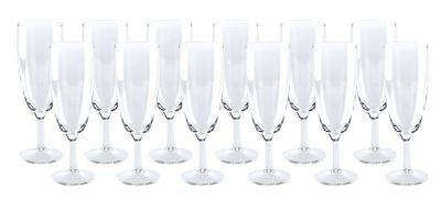 12 Sektgläser 0,1L Sektglas Prosecco Glas Gläser Gastronomie NEU