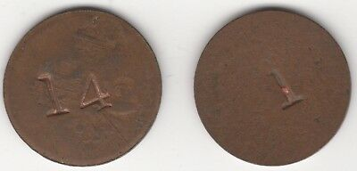 Stamped Tokens x2 | Pennies2Pounds