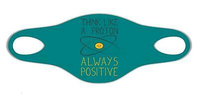 Denken Sie wie ein Proton immer positive Chemie Sanft atemSchutzmaske