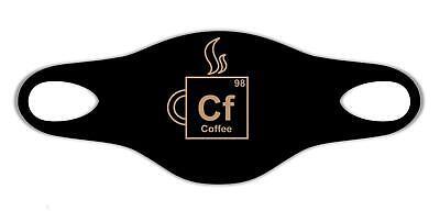 Chemie Kaffee Periodensystem Comic Sanft atemSchutzmaske