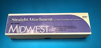 Midwest Straight Attachment Nose Cone Dentsply New