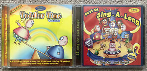 2 Music CD's For Kids