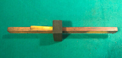 Antique Vintage Woodworking Marking Gauge Scribe - English Make  030