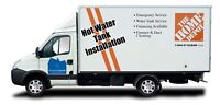 Hot water tank installation subcontractor or employee wanted