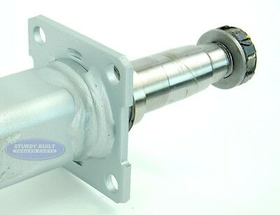 Details About Galvanized Boat Trailer Axle 70 Hub Face 3 500lbs With Brake Flange Square Tube
