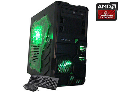 AMD Quad Core Gaming PC Computer 4.0GHz 16GB 2TB New Custom Built Desktop System