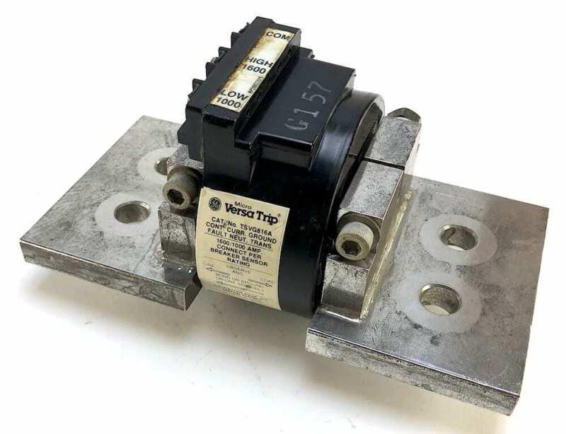 General Electric TSVG816A MicroVersa Trip 1600/1000A Transformer