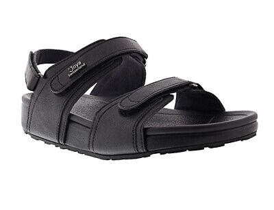 New Joya Amalfi Black Women's Velcro Sandal UK 5 Ex Sample