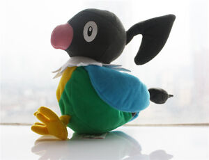 Chatot Music Note Pokemon Plush Toy Perap Flying Parrot Stuffed Animal Doll 6""
