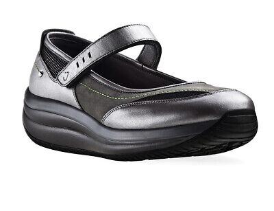New Joya Costa Metallic Mary Jane Women's Velcro Shoe UK 4.5 Ex Sample
